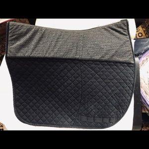 Success Equestrian non-slip dressage pad, black